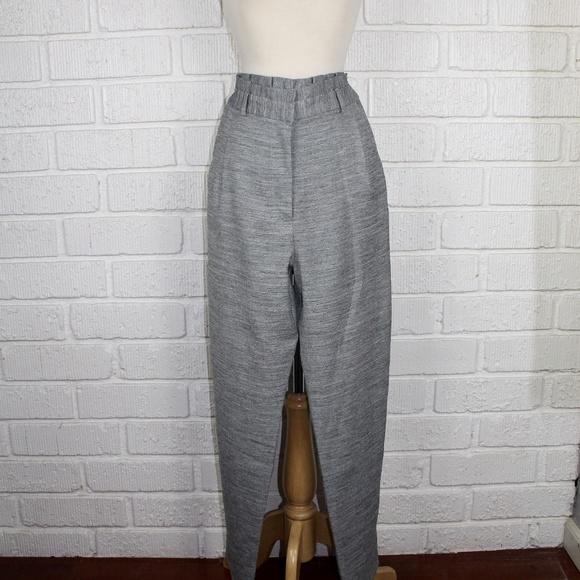 aa0d3f8e9af Topshop high ruffle waisted trouser